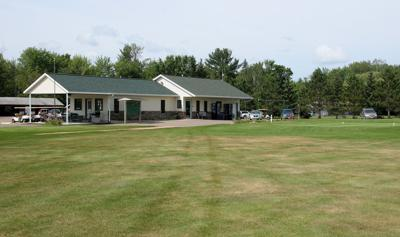 Riverview GC clubhouse