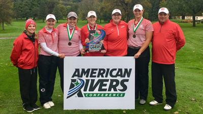 Verona's Emily Opsal | 2018 American Rivers Conference champion Central
