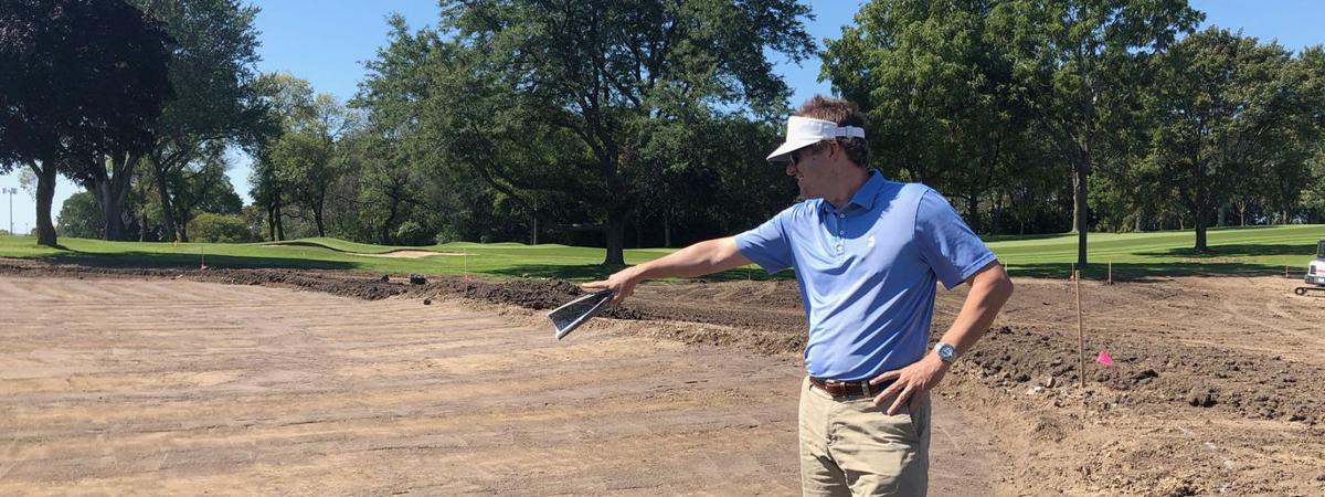 Sussex native Andy Staples brings design touch to advanced short game facility for Marquette men's team at The University Club