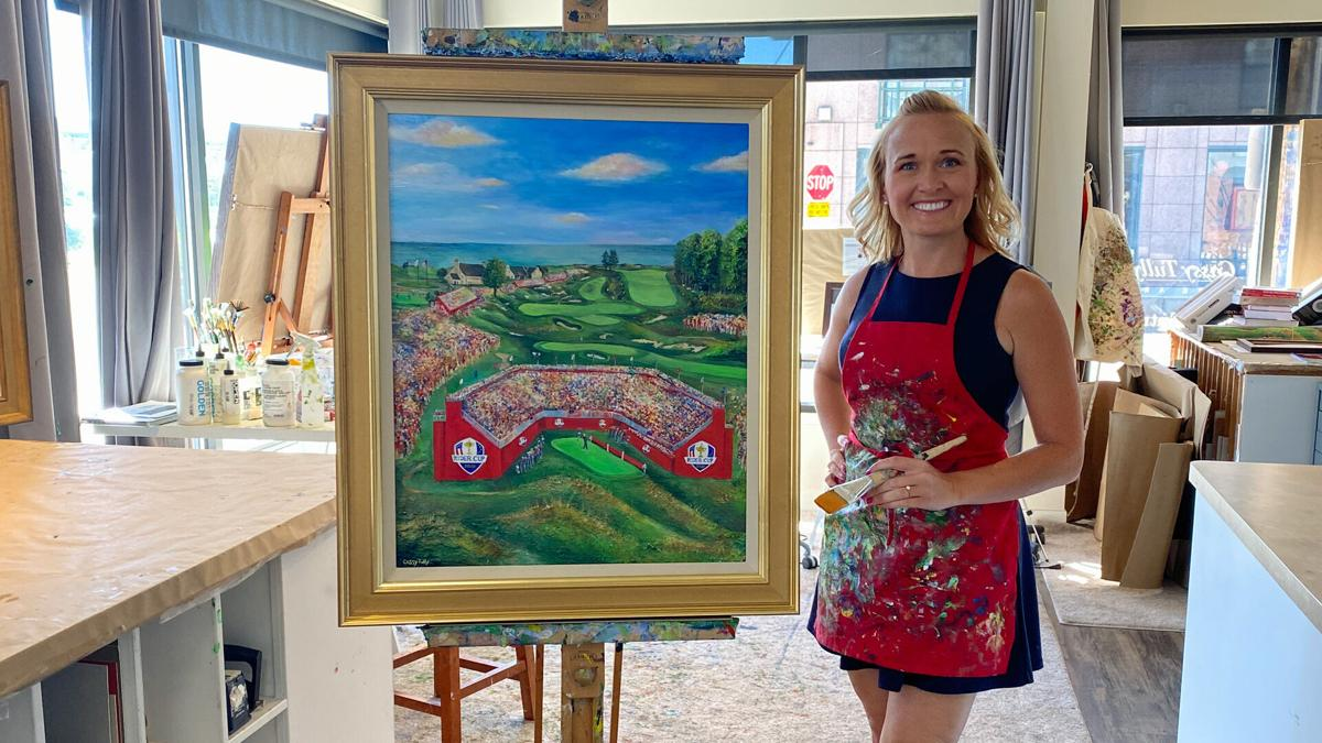 Cassy Tully | Ryder Cup painting