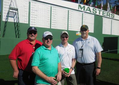 Masters - (Wed) Gary foursome
