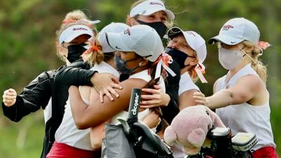 2021 WIAA alternate season girls golf championship | Middleton celebrates