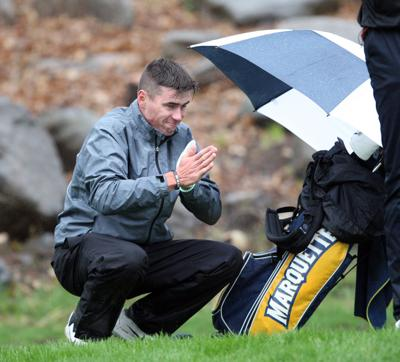 2019 U.S. Open local qualifying | Marquette's Hunter Eichhorn tries to stay warm