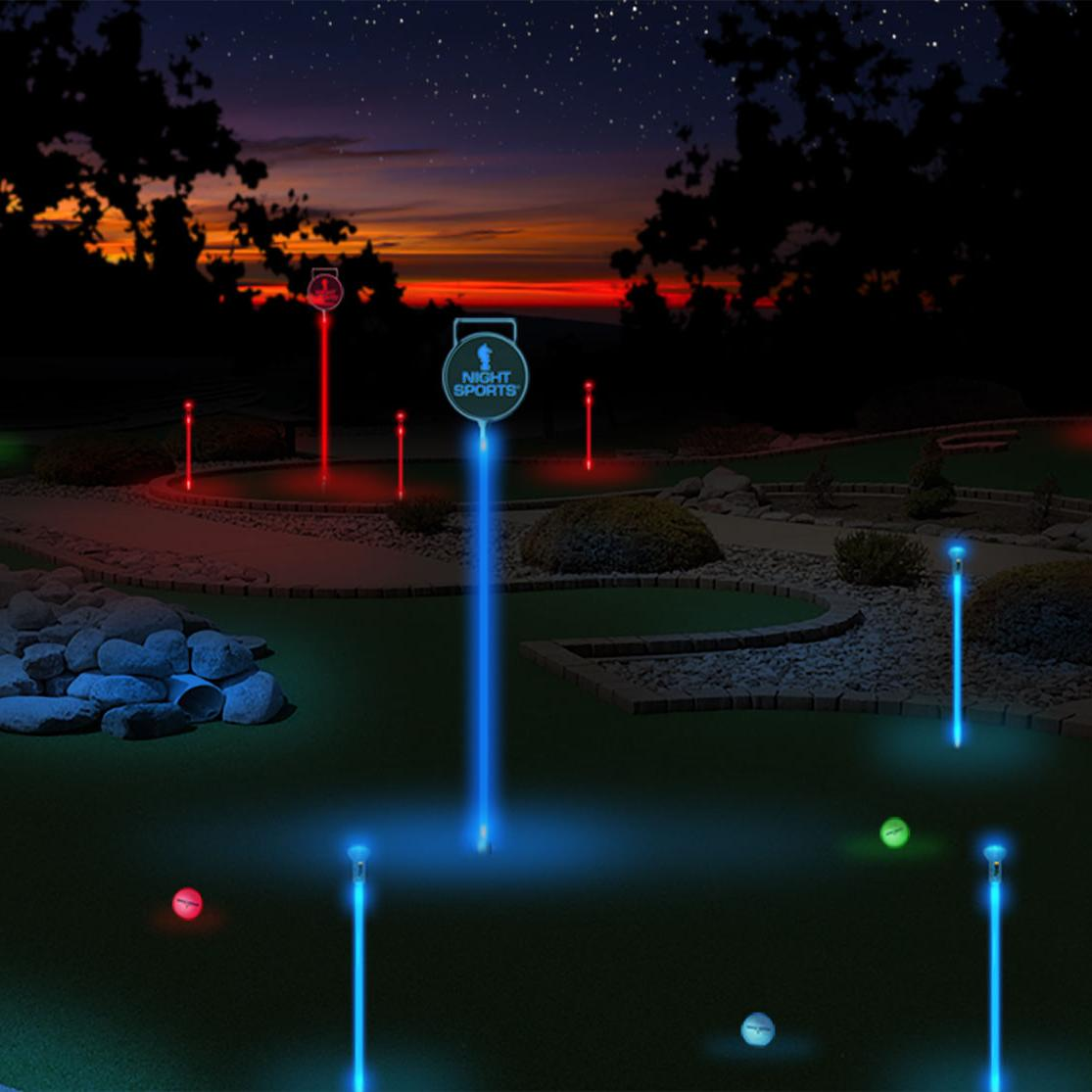 Day 3 | @WisDotGolf's 12 Days of Christmas Golf Gift Ideas: Night Sports USA's Lighted Backyard Pitch & Putt