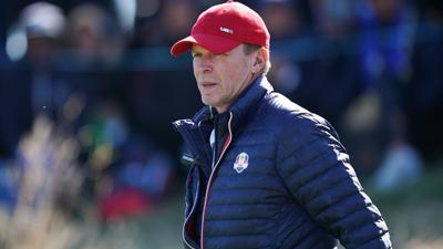 Steve Stricker at the 2018 Ryder Cup