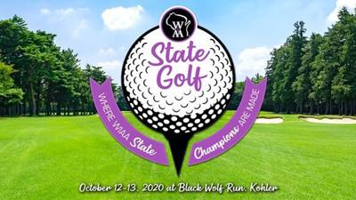 2020 WIAA state girls golf logo