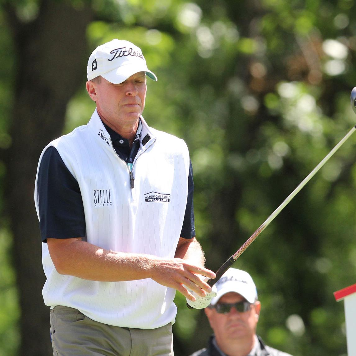 The burden of a six-year winless streak behind him, Madison's Steve Stricker eager to tee it up at Rapiscan Systems Championship