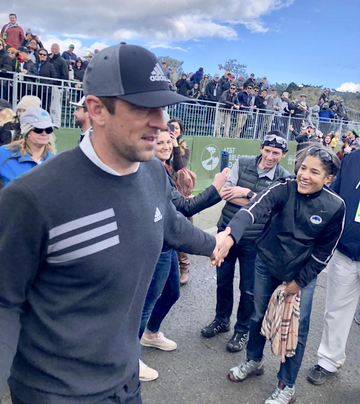2019 AT&T Pebble Beach Pro-Am | Aaron Rodgers