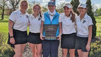 Lakeland women's golf team | 2021 NACC Champions