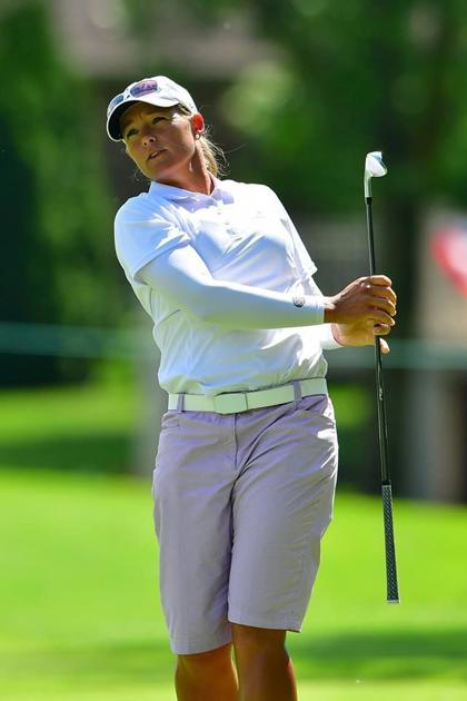 Australian Katherine Kirk continues to command the lead as inaugural Thornberry Creek LPGA Classic heads for home