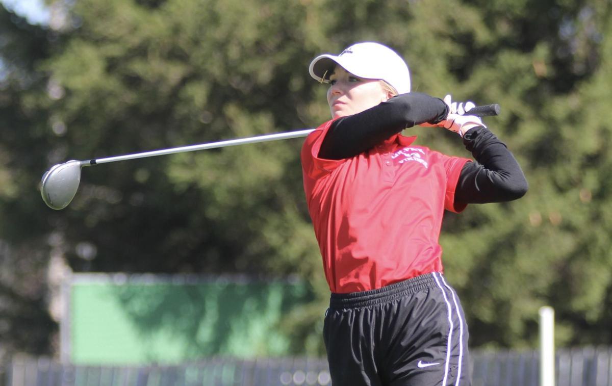 2019 WIAA D2 Girls Golf Sectional | Abby DeMoe, Colfax