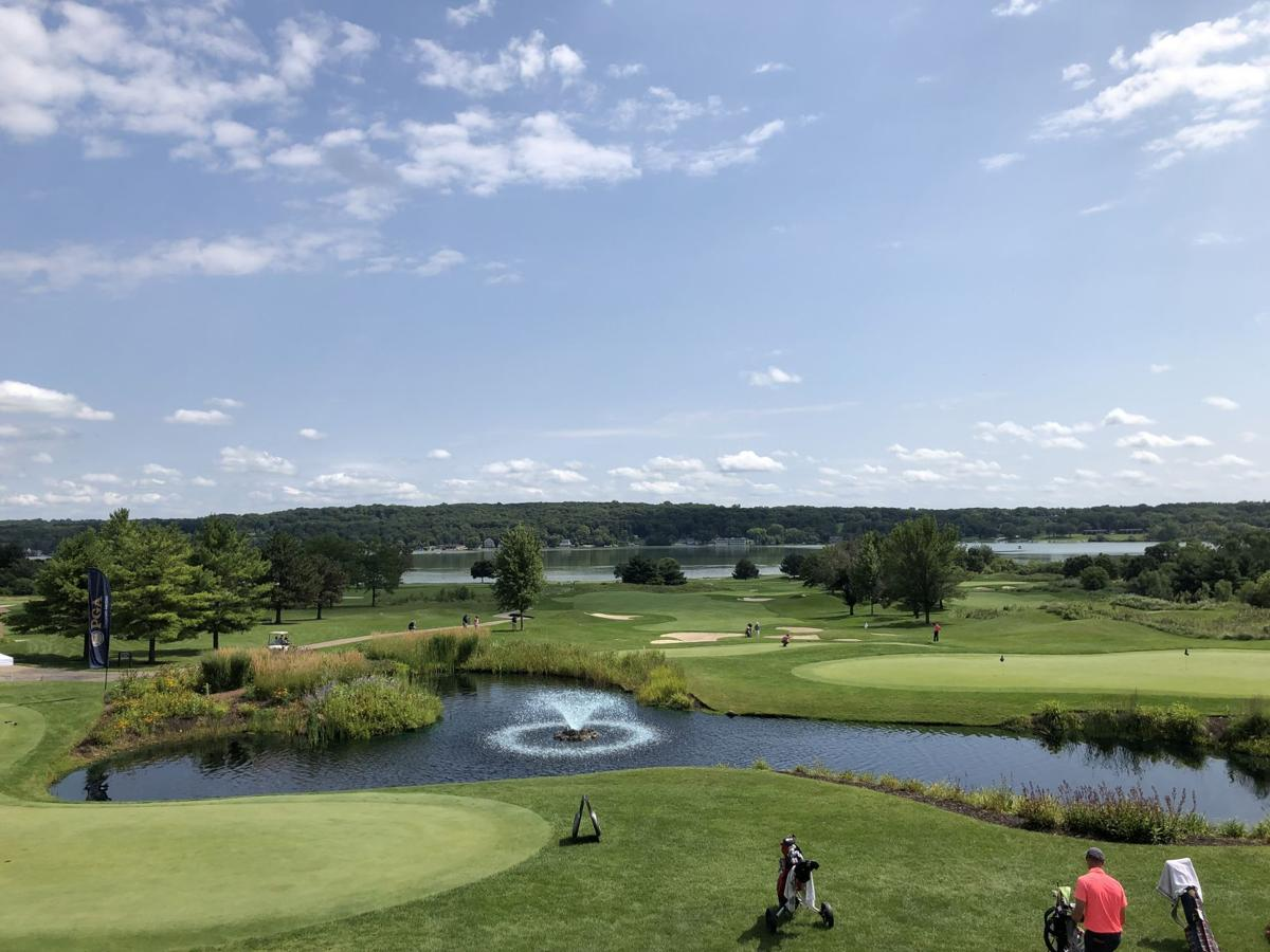 Photos: Newsmakers and breath-takers on a sun-splashed Day 1 of Wisconsin State Open at gorgeous Geneva National GC-Lake Geneva