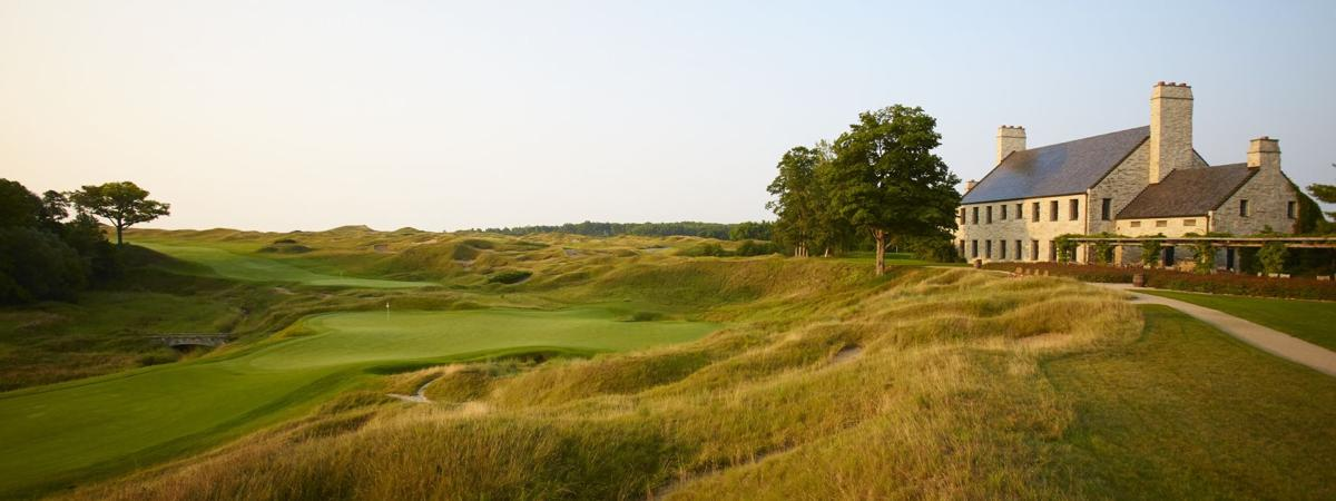 "Whistling Straits moves to No. 3; both new layouts at Sand Valley debut in Golf Digest's ""American's 100 Greatest Public Courses"" to give Wisconsin five in the top 30"
