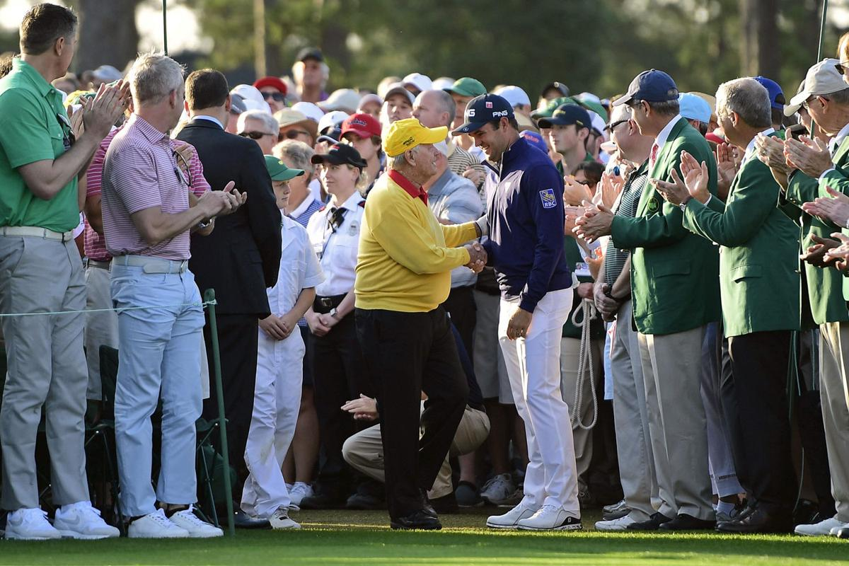 Masters - Conners and Nicklaus