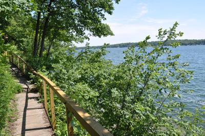 Lake Geneva lakeshore path