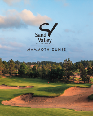 Mammoth Dunes | Sand Valley GR | Scorecard front