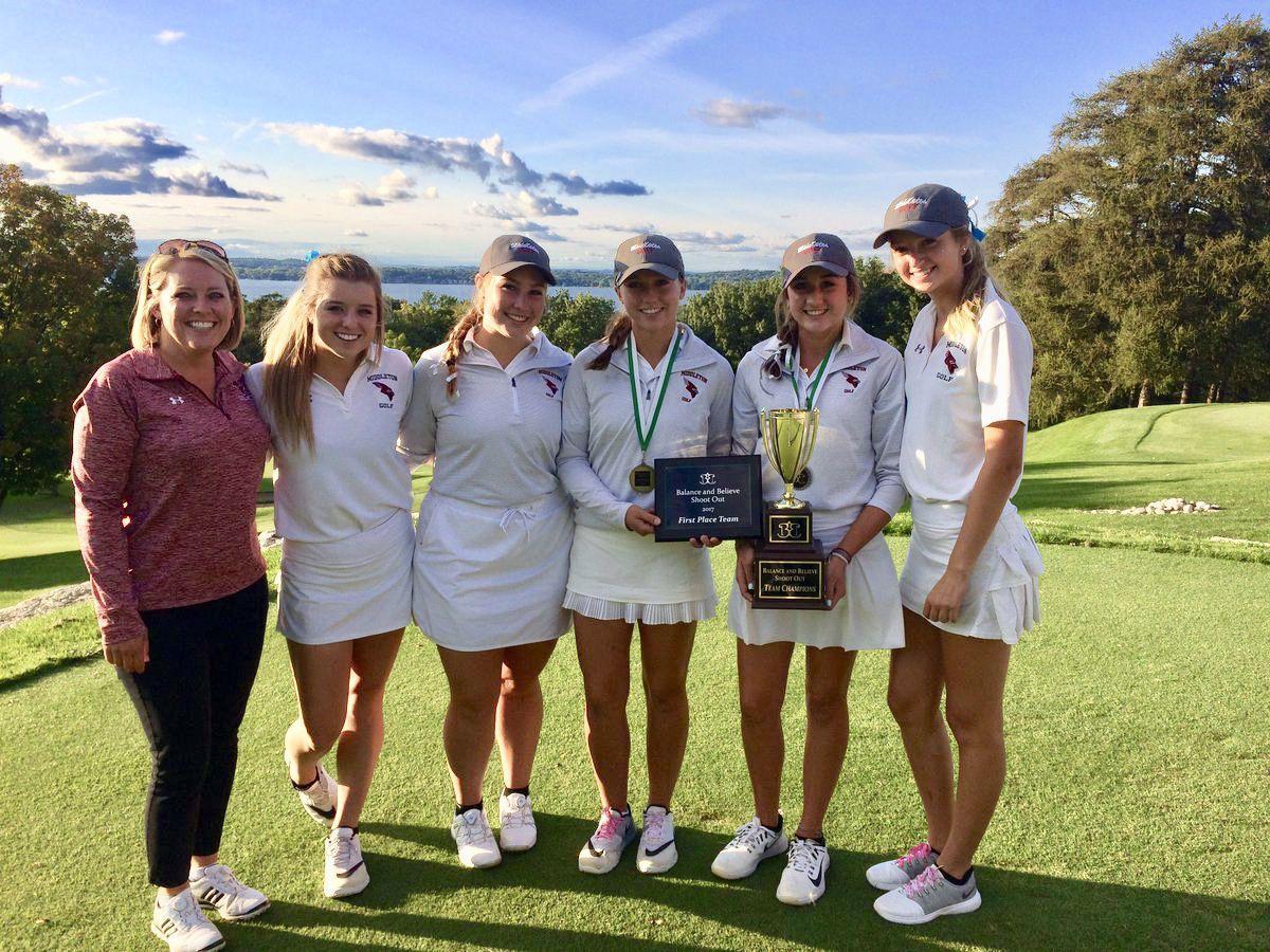 Middleton girls golf team