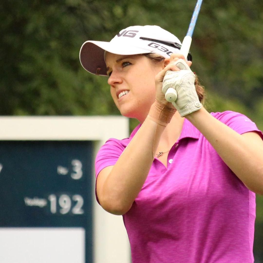 Snowman-birdie finish leaves Madison's Jessie Gerry with work to do after 18 holes at Stage II of LPGA Tour Q-School