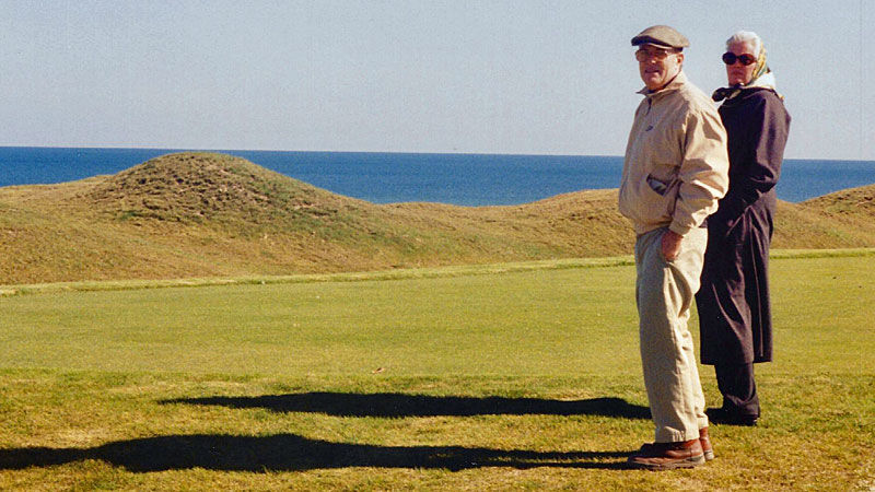 Pete Dye at Whistling Straits | Oct. 22, 1998