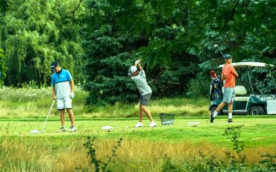 In New Berlin The Practice Station Offers Golfers A And