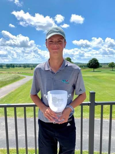 Zak Kulka   2019 Morgan Stanley WPGA Junior Tour Championship   Boys champion