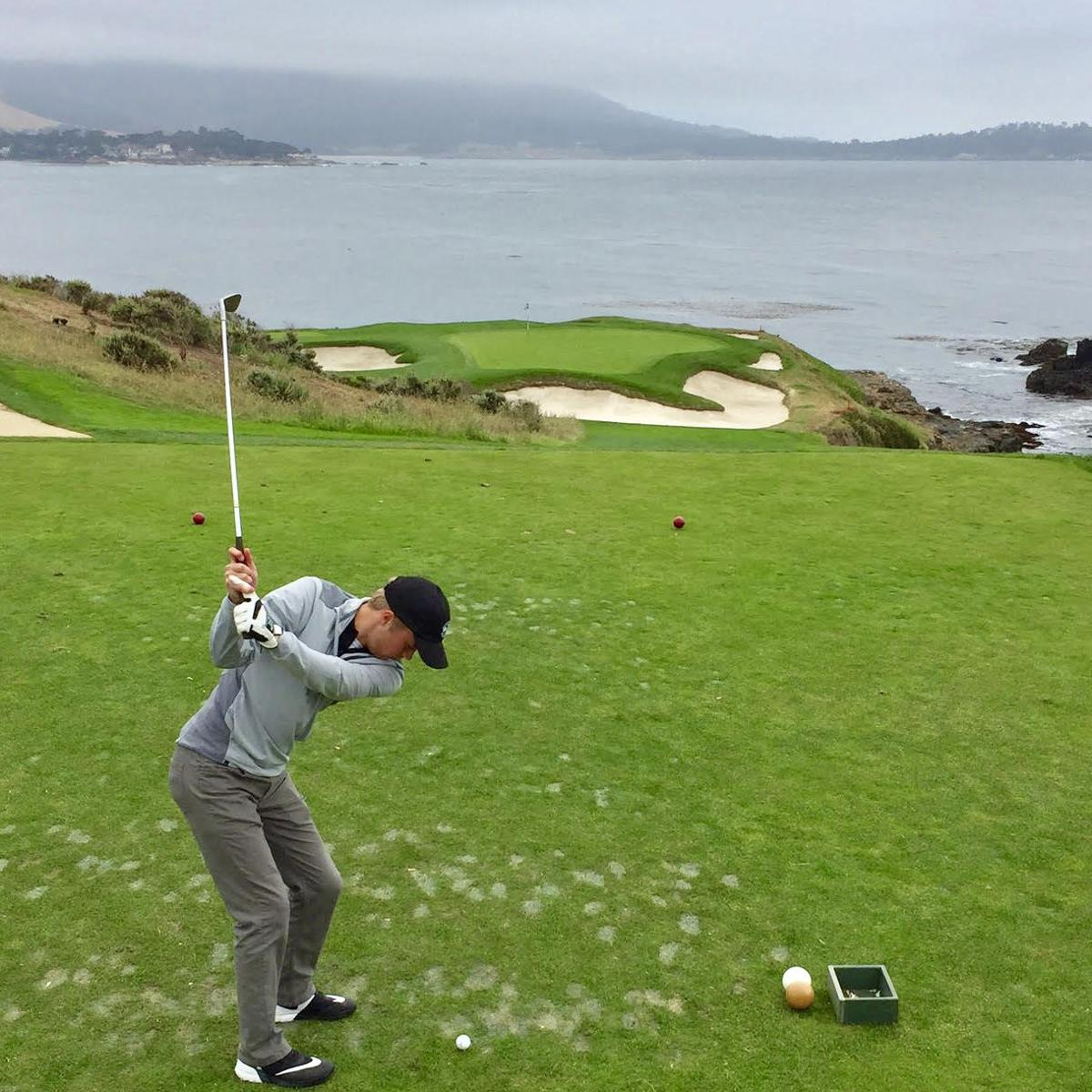 A picture-perfect experience as Eau Claire's Jackson Lindquist pours heart into 'Round of a Lifetime' at Pebble Beach