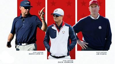 Ryder Cup assistants