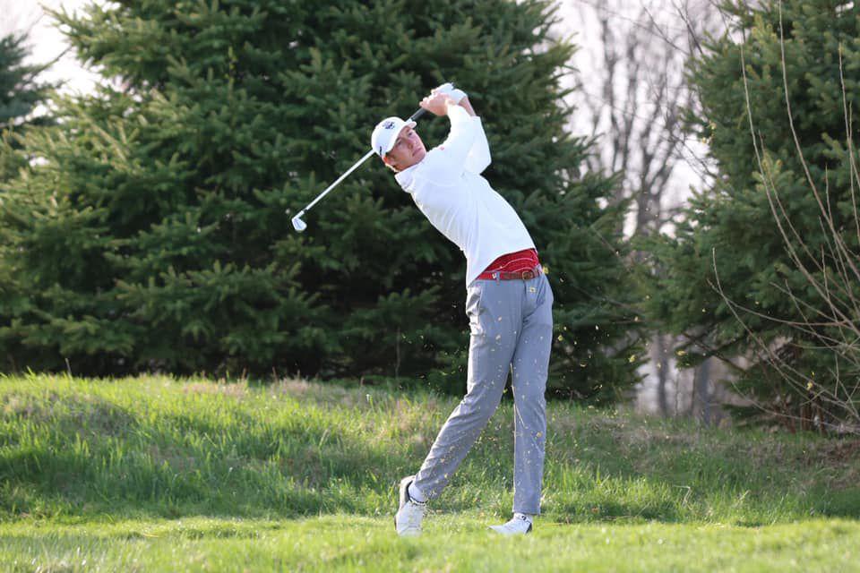 Badgers men's golf   Jordan Hahn