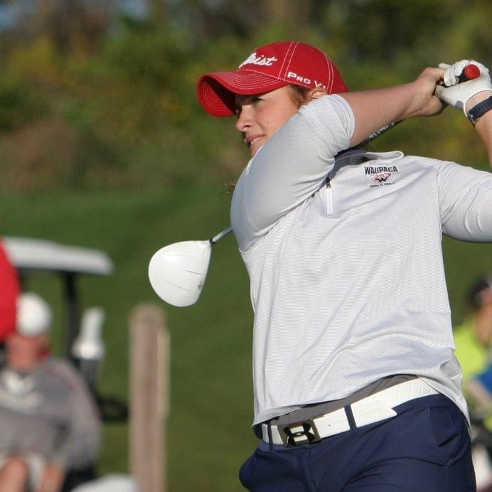 Golf trumps hockey as her collegiate sport of choice; Waupaca's Markie Ash brings the drive to do big things to UW-Stout