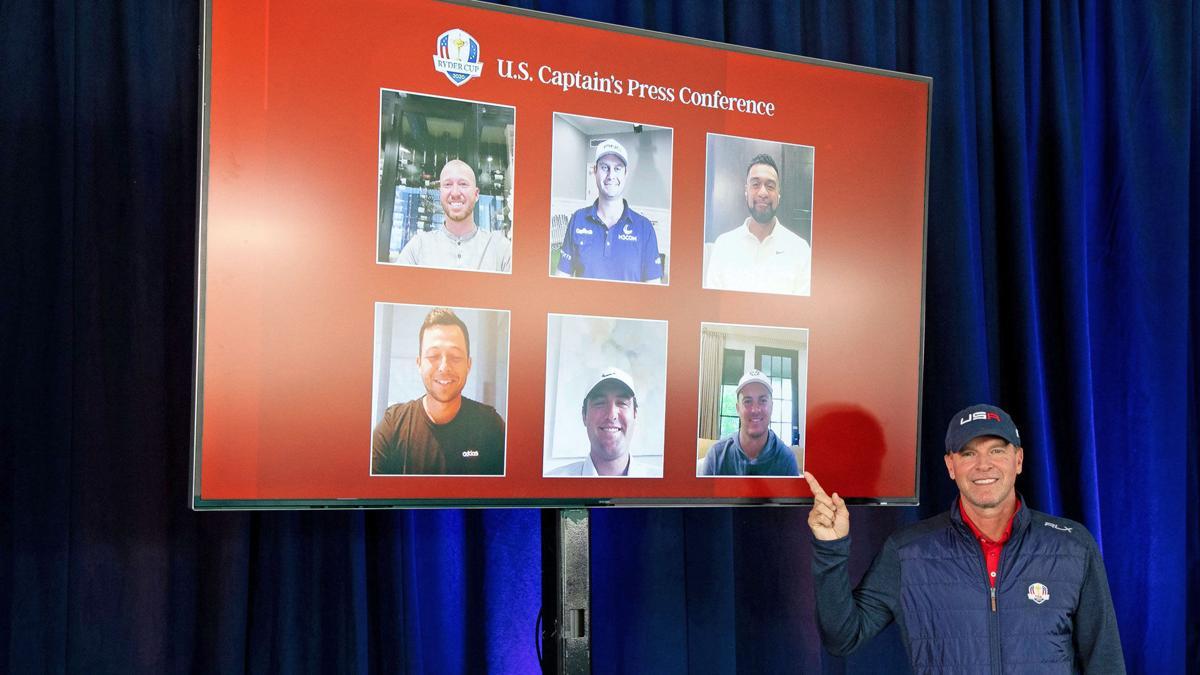 Steve Stricker | Ryder Cup captain's picks | News conference