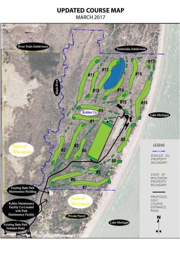 Proposed Kohler Golf Course | Tentative layout