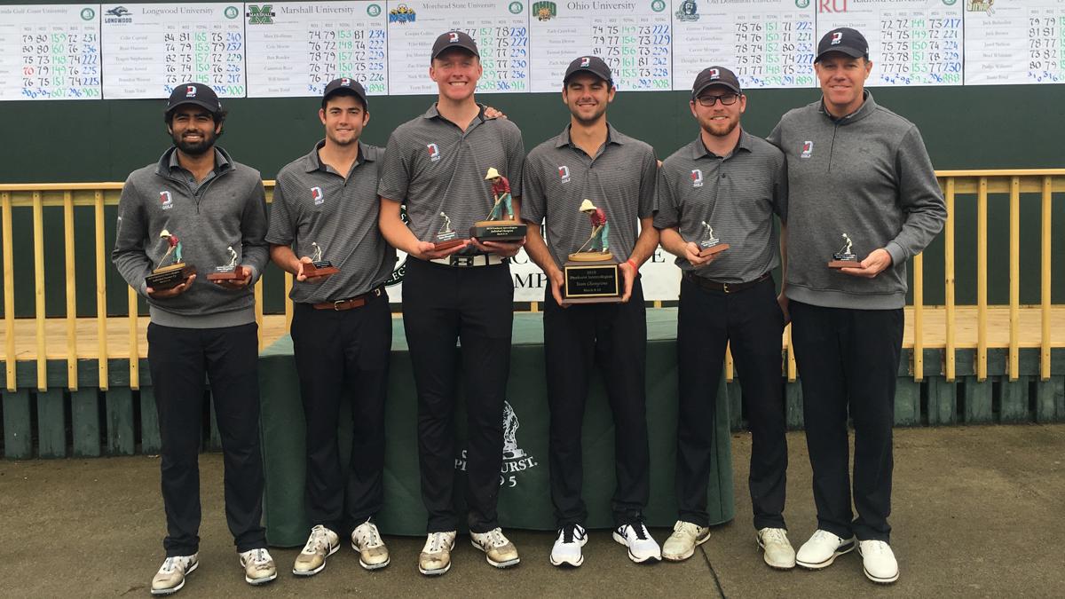 Clayton Tribus, Davidson College men's golf team