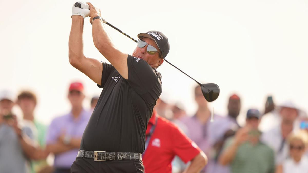 Phil Mickelson, Day 3, PGA Championship