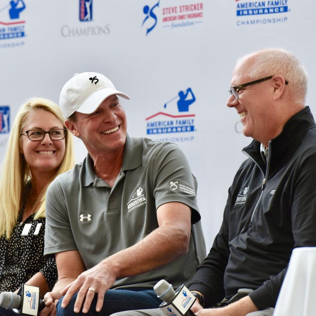 Another big win for Steve Stricker as Am Fam Championship announces $1.625 million charitable impact in 2017