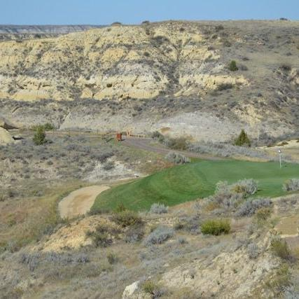 Dennis McCann: Against the backdrop of the Badlands' rugged beauty, Bully Pulpit GC is another Michael Hurdzan gem