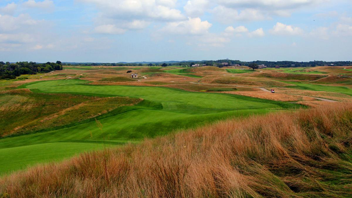 Erin Hills 14th fairway