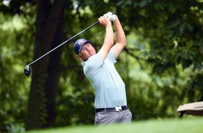 Patrick Stolpe's birdie binge is the story of the day, but