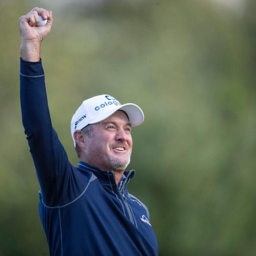 Victory is the bee's knees as Madison's Jerry Kelly rallies for second PGA Tour Champions victory in four weeks
