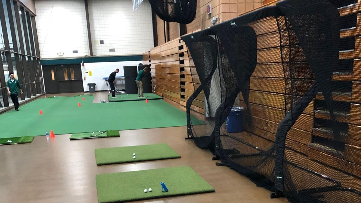 UW-Green Bay indoor golf facility
