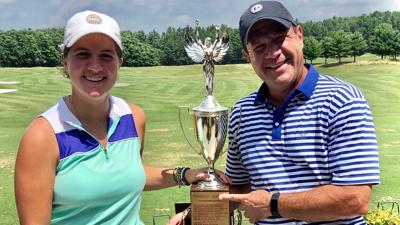 Isabelle Maleki, Sy Maleki | 2019 WWSGA Father-Daughter champions