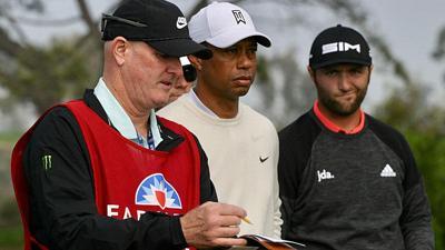 2020 Farmers Open   Round 2   Tiger Woods & Jon Rahm