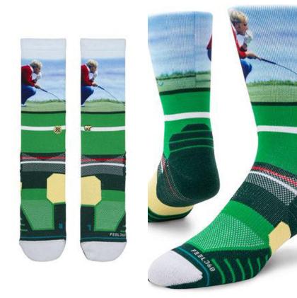 Jack Nicklaus Green Socks