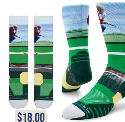 Jack Nicklaus Green Socks | Price Tag