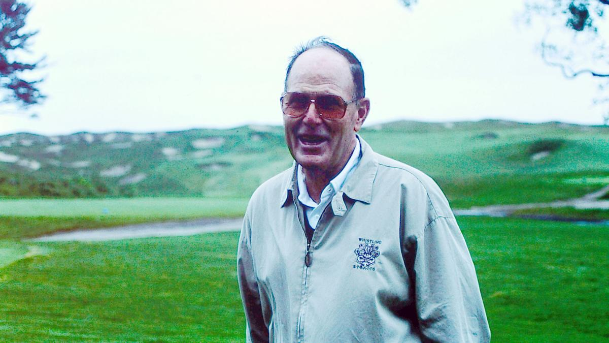 Pete Dye at Whistling Straits