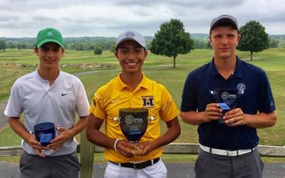 Morgan Stanley Junior Tour Championship | 2018 top three boys