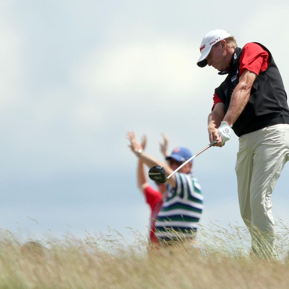 Putting woes continue at Royal Birkdale as Madison's Steve Stricker shoots 71, ties for 37th at Open Championship