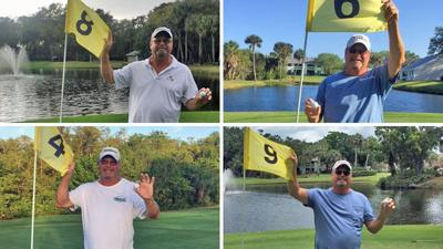 4 holes in one
