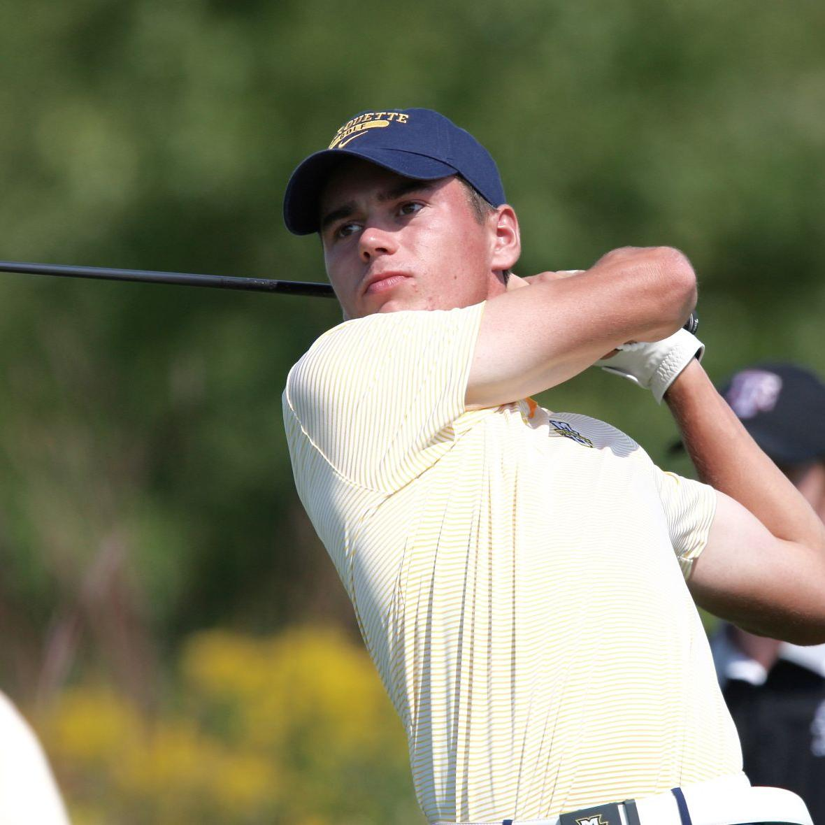 Austin Kendziorski finds the grove, Hunter Eichhorn finishes strong, but Marquette men fall to 11th in Puerto Rico