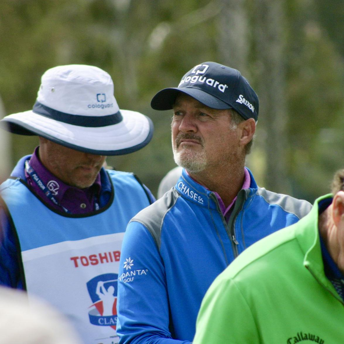 Second-round 65 vaults Madison's Jerry Kelly into a tie for third at KitchenAid Senior PGA Championship
