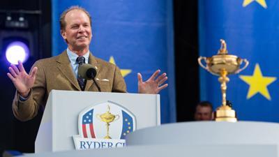 Steve Stricker   Ryder Cup opening ceremony